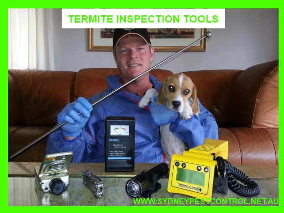 Sydney Pest Control Company Micropest uses the latest temite inspection technology.